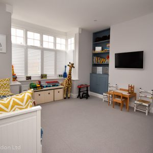 gr. fl playroom with sofabed