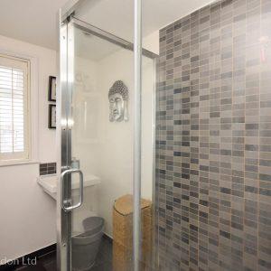 2nd floor family shower room