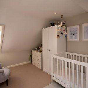 Top floor as nursery