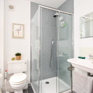 principal guest shower room